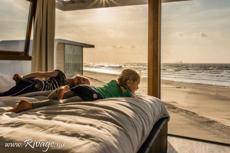 strand slaap huisjes